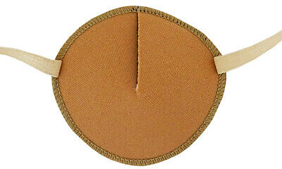 Eye Patch, SAND,  Soft and Washable for Left or Right Eye