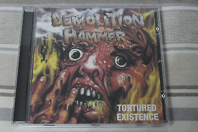Demolition Hammer - Tortured existence CD 2008
