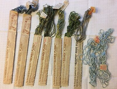 Lot of Vintage Silk  Embroidery Floss