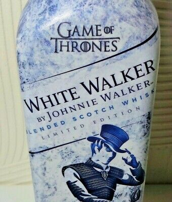 Johnnie Walker Limited Edition Game Of Thrones White Walker Whisky Empty Bottle
