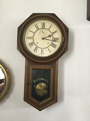 Antique Llanelli Wall Clock Kaltenbach