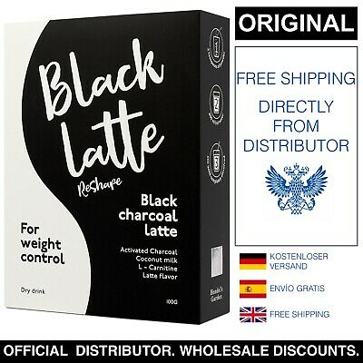 Black Latte Dry Drink. 1-20 pezzi. Sconti all'ingrosso!