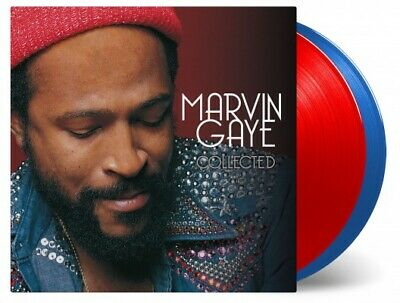 * MARVIN GAYE - Collected, Ltd 80th Anni 180G 2LP RED/BLUE VINYL #'d New! Bend!