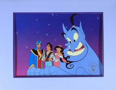 Disney Store Exclusive Aladdin King of Thieves Lithograph Loose Unframed 1996