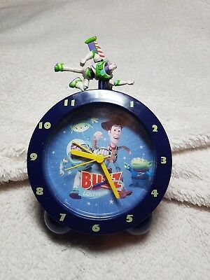 Toy Story Woody and Buzz Lightyear Alarm Clock Figure