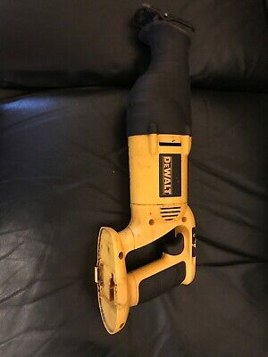 DEWALT DC380 18vdc Cordless Reciprocating Saw (Bare Unit Only) Used Condition