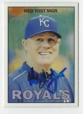 2016 Heritage #422 Ned Yost NM-MT Royals