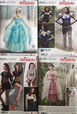 Simplicity Sewing Patterns Costume Including Summer 19