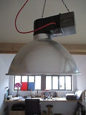 LaMPe SuSPeNSiON PHiLiPS  LoFT iNdUStRieL  MéTieR ATeLieR ViNTaGe USiNe No MaZDA