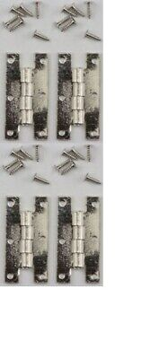 100//Pk #CLA05557 1//8 Inch Dollhouse Miniatures 1:12 Scale Mini Nails Pewter