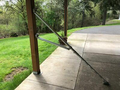 UPRIGHT Aluminum Scaffolding Adjustable Outrigger 62""