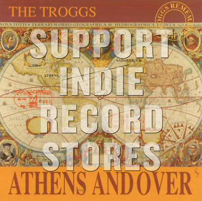 TROGGS Athens Andover Vinyl LP 2019 RSD NEW Record Store Day New/Sealed REM