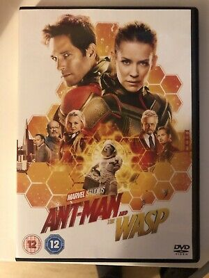 Ant-Man and the Wasp [DVD] [2018]- Region 2