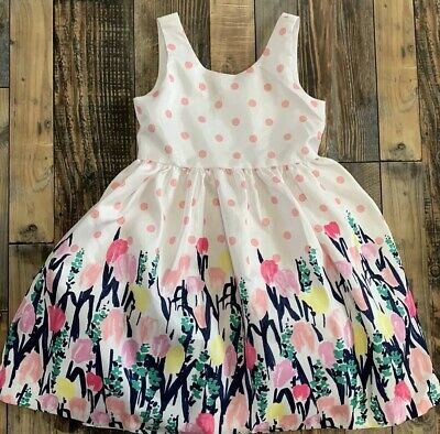 NWT Gymboree Dressed Up Seersucker Dress special Occassion Wedding Easter Girls