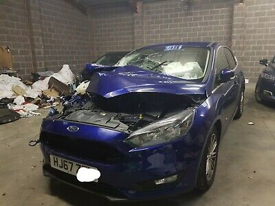 2017 Ford Focus Tdci Zetec Unrecorded Damaged Salvage New Shape No Reserve Sale
