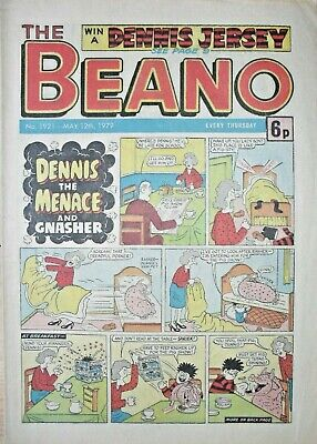 BEANO - 12th MAY 1979 (12th - 18th) - NOVEL 40th BIRTHDAY GIFT!!