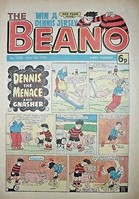 BEANO - 5th MAY 1979 (5th - 11th) - RARE 40th BIRTHDAY GIFT!!