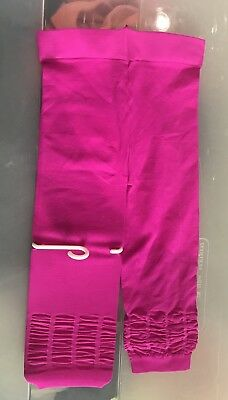 New Crazy 8 Footless Tights Microfiber Girls Hot Pink 12-24 M