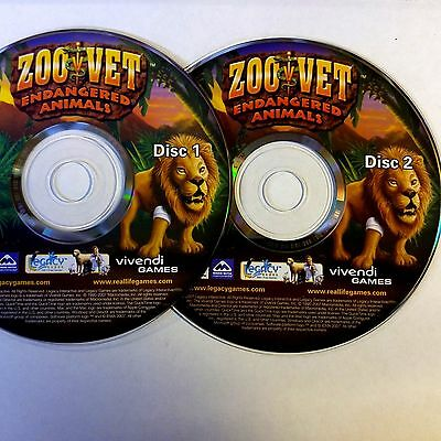 THE SAN DIEGO Zoo presents    The Animals! - PC CD Computer