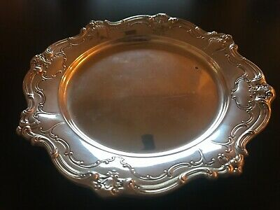 "Gorham Chantilly Duchess Sterling Silver Bread Plate #738 - 6"" - NO MONO"