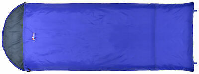 Chinook Thermopalm Hooded Rectangle Sleeping Bag 32F/0C, Blue