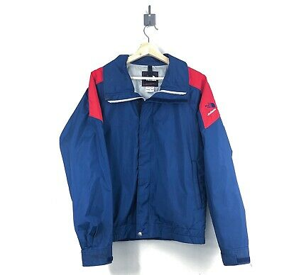 b71b5229c THE NORTH FACE Extreme Pullover Jacket Teal Yellow Purple Rare 80s ...