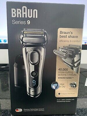 Braun Series 9 CLEAN & CHARGE STATION ONLY for model 9290cc Wet and Dry Shaver