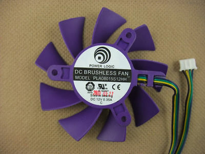 75mm VGA Video Card Fan Replacement 43mm PLA08015S12HH 176