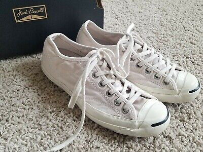 9bc149bb26aac1 CONVERSE CHUCK TAYLOR Canvas JACK PURCELL Low Top SNEAKERS Off-White WOMENS  5.5