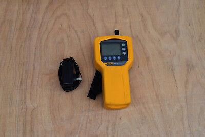 Fluke 983 Particle Counter Air Quality Meter  6 Channel HVAC + Case Working!