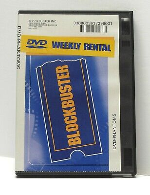 BLOCKBUSTER VIDEO DVD RENTAL CASE Phantoms 1998 SCI FI HORROR FAST Dean Koontz