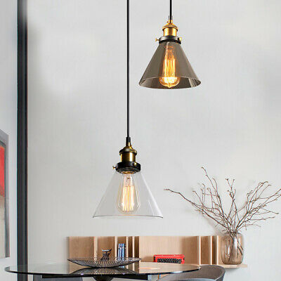 Industrial Vintage Ceiling Hanging Chandelier Fixture Pendant Light Lamp Shade