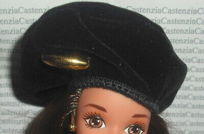 HOOD BARBIE DOLL MATTEL DISNEY EVIL QUEEN BLACK HOOD ACCESSORY CLOTHING ITEM
