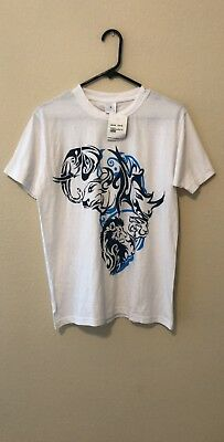 Africa Souvenir T-Shirt From Swaziland Africa Mens Size Small New With Tags
