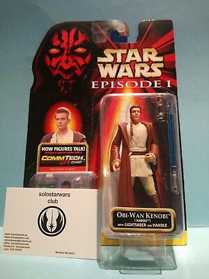 Star Wars Obi-Wan Kenobi Naboo The Episode 1 Collection 1999