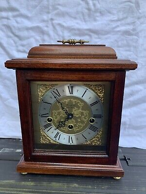 Woodford Franz Hermle Westminster Chime Mantel Bracket Clock German Works