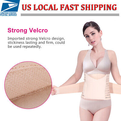 Postnatal 3 in 1 Postpartum Support Belly Waist/Pelvis Belt Recovery Body Shaper