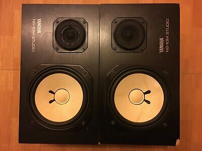 Vintage Yamaha NS10M Studio Monitors Speakers Original Matched Pair Offer price!