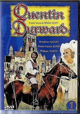 Quentin Durward (1971) Serie Tv L'integrale Lot De  2 Dvd Neuf Sous Blister