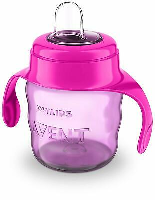 Philips Avent Easy Sip Spout Cup with Handle Pink/Purple - 200 ml