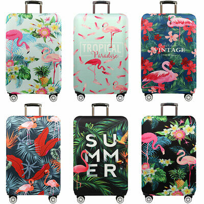 Elastic Flamingo Travel Luggage Suitcase Protective Cover 18-32inch Anti Scratch