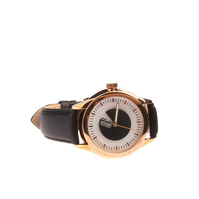 RRP €129 MOSCHINO CHEAP AND CHIC Quartz Watch Analogue Leather Strap MW0341