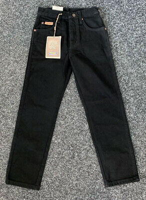 "Wrangler Boys Jeans Black Age 7 Years New 24"" W"