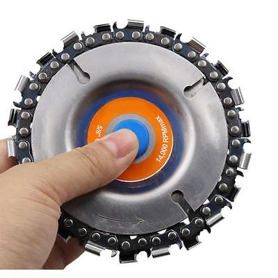 Grinder Disc Chain Plat Grinding Wheel Disc 22 Tooth Cut Carving Chainsaw Blade