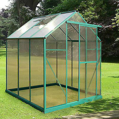 4mm Greenhouse Polycarbonate Replacement Sheet Clear Double Glazed Panel Plastic