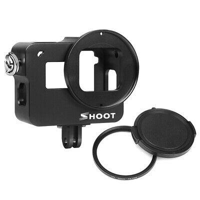 SHOOT Aluminum Alloy Protective Case with  UV Lens Filter for Gopro Hero 7 6 5
