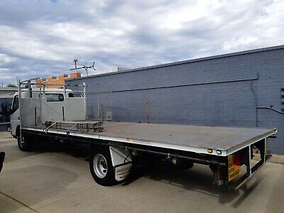 2007 Mitsubishi Fuso Canter Table Top Truck.,,..6.6M Long Tray...1 Owner