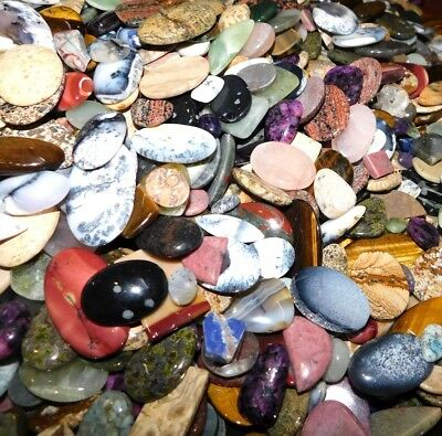 500cts. Top Quality Mix Wholesale Lot Natural Mix Loose Gemstone Cabochon 5846