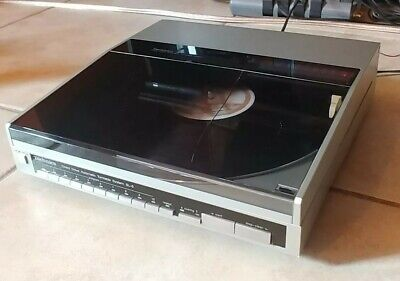 Technics SL-6 Linear Tracking Direct Drive Automatic Turntable serviced!