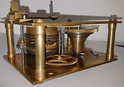 Antique Chain-Driven Fusee Movement in good condition. Item 10